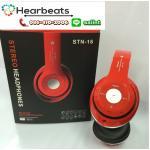 หูฟัง บลูทูธ STN-16 ( สีแดง )