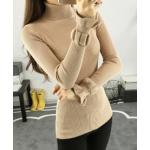 เสื้อยืดแขนยาวแฟชั่น เด่นสะดุดตาด้วยแขนเสื้อดีไซน์เก๋ๆ และสีที่มีให้เลือกกันจุใจ - กากี