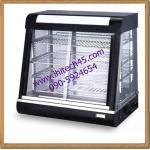ตู้โชร์อาหารพร้อมอุ่น สีดำ DH-660