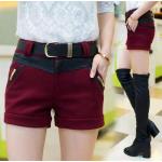 กางเกงขาสั้น แฟชั่นโดนๆ ที่สาวๆขาเรียวสวยไม่ควรพลาด - แดง