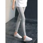 กางเกงขายาวแนวสปอร์ท ใส่นิ่ม เบาสบาย กระชับสัดส่วน set2 - ลาย 2 M