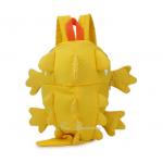 lizard kid backpack color: yellow