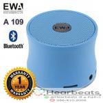 ลำโพงบลูทูธ EWA A109 ( สีฟ้า )