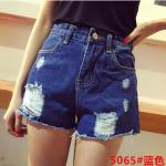 กางเกงยีนส์ขาสั้นแฟชั่น มีให้เลือกหลายแบบ set 4 - 5065 ยีนส์