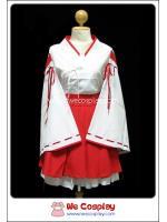ชุดมิโกะ หญิงรับใช้ในศาลเจ้าญี่ปุ่น แบบสั้น