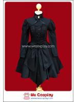 เดรสโกธิคโลลิต้า สีดำ Black Noche Flamingo Official Setup Gothic Lolita Dress