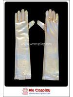 ถุงมือยาว สีทอง Gold Long Gloves