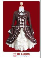 เดรสโกธิคโลลิต้า นีโอโรโคโค่ สีน้ำตาล Neo Rococo Gothic Lolita Dress
