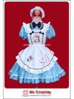 ชุดเมดบิวตี้อลิสสีฟ้า (Light Blue Beauty Alice Maid Costume)