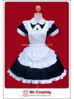 ชุดเมดแบล็คเมโลดี้ Black Melody Maid Costume สีดำ