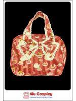 กระเป๋าถือ สวีทโลลิต้า สีแดง ลายขนมเค้ก