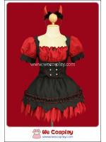 ชุดสวีทเดวิล Sweet Devil Dress Fancy Costume