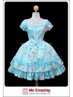 เดรสโกธิคโลลิต้า ทรัมป์กอเจียส Trump Gorgeous Gothic Lolita Dress