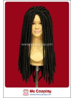 วิกผมเดรดล็อคส์ สีดำ Black Dreadlocks Wig
