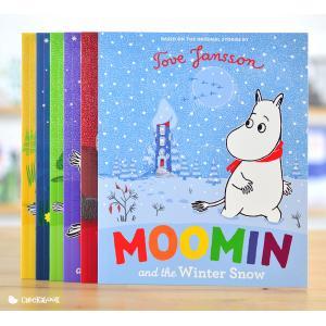 หนังสือ นิทาน ภาษาอังกฤษ นิทาน เด็ก Moomin เซ็ต 6 เล่ม