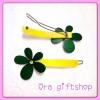 กิ๊บดอกไม้สีเขียว-เหลือง
