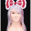 ที่คาดผมโบว์โลลิต้าสีแดง Red Ribbon Lolita Headband
