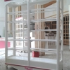 ตู้โชวชั้นวาง วินเทจสีขาว สำหรับบ้านเเละร้านค้า ยาว150