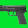 ROHM RG96 Black, 9 mm.P.A.K. Blank Gun