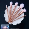 NEE CARA Mermaid rose golden 6 Piece Brush Set ชุดแปรง