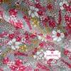 ผ้าคอตตอน 100% 1/4 ม.(50x55ซม.) ลายดอกไม้ โทนสีคลาสสิค