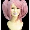 วิกผมคานาเมะ มาโดกะ สาวน้อยเวทมนตร์ Kaname Madoka Mahou Shoujo Madoka Magica Cosplay Wig