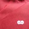 ผ้าลินิน 1/4 เมตร (50x55 cm.) สีแดง