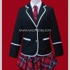 ชุดนักเรียนญี่ปุ่นฤดูหนาว แขนยาว สีดำ สำหรับผู้หญิง