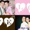 การ์ดแต่งงานรูปภาพ HDD-233