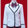 เสื้อสูทนักเรียนญี่ปุ่น แขนยาว สีขาว สำหรับผู้หญิง