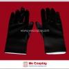 ถุงมือสั้น สีดำ Black Short Gloves