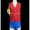 ชุดลูฟี่ วันพีซ Monkey D. Luffy One Piece Cosplay Costume