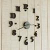นาฬิกาติดผนัง DIY ขนาด 40 ซม CD111
