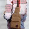 กระเป๋าเป้สะพายข้างสำหรับหนุ่มๆ ดีไซน์เท่ห์ๆ ขนาดกำลังดี