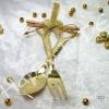 ของชำร่วย ช้อน-ส้อม ช้อนเงินช้อนทอง SM-ak04