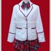 ชุดนักเรียนญี่ปุ่นฤดูหนาว แขนยาว สีขาว สำหรับผู้หญิง