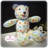 [Made to Order] ตุ๊กตาหมีผ้าคอตตอน ขนาด 8.5 นิ้ว