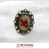 แหวนโกธิคโลลิต้า กระต่ายอลิซ Alice Rabbit Gothic Lolita Ring