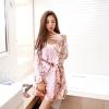 เดรสแฟชั่นเกาหลี สีสวย ผ้าเนื้อดี ลายโดดเด่น สวยสะกดทุกสายตา