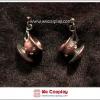ต่างหูโกธิคโลลิต้า ถ้วยชา สีทองแดง Teacup Gothic Lolita Earrings