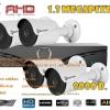 ชุดติดตั้งกล้องวงจรปิดBE-R13 (1.3 ล้าน) ir 30 เมตร 4 ตัว (DVR 4 CH.,สายRG6มีไฟ 100 เมตร,HDD 1 TB)