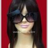 แว่นตาสีดำ ติดโบว์ เลนส์ดำ Fancy Cosplay Glasses