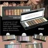 Sivanna Pro Eyeshadow Palette HF537 10 เฉดสี