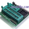MCS 51 / AVR + PLCC44 Adapter Version.2