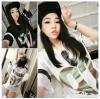 เสื้อแฟชั่นเกาหลี สไตล์สาวฮิพฮอพ จะใส่เที่ยวหรือจะใส่แทนชุดนอนตัวเก่ง ก็เก๋ไม่เบา