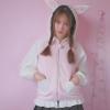 เสื้อกันหนาวแฟชั่นสำหรับสาววัยทีน ที่เปลี่ยนฮูดธรรมดาให้เป็นกระต่ายน้อยแสนน่ารัก