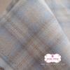 ผ้าทอญี่ปุ่น 1/4ม.(50x55ซม.) โทนสีเทาฟ้าอ่อน