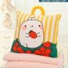 หมอนผ้าห่ม ลายกระต่าย Molang สีเหลือง มีหูหิ้ว ++ หมดค่ะ ++