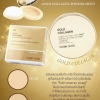 Sivanna Colors Gold Collagen Powder Ampoule Two way Pact spf 15 PA+++ HF675