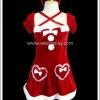 ชุดซานต้าสวีทโลลิต้า สีแดง Red Santa Sweet Lolita Christmas Costume